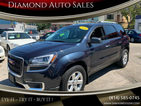 2015 GMC Acadia for sale at Diamond Auto Sales in Milwaukee WI
