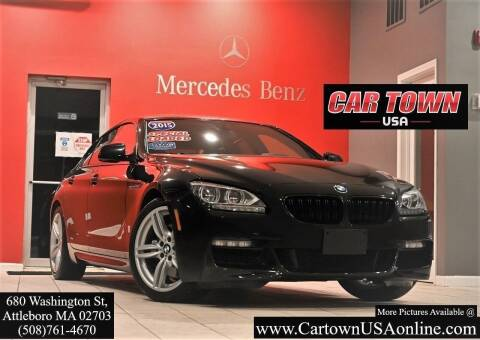 2015 BMW 6 Series for sale at Car Town USA in Attleboro MA