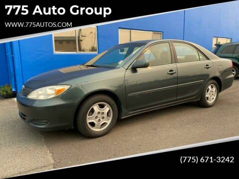 2002 Toyota Camry for sale at City Auto Sales in Sparks NV