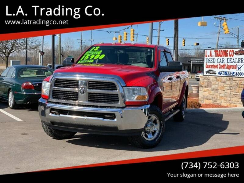 2012 RAM Ram Pickup 2500 for sale at L.A. Trading Co. Woodhaven in Woodhaven MI