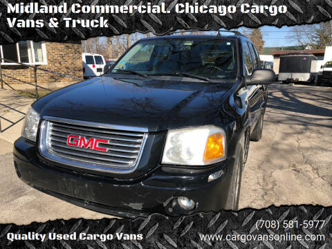 2007 GMC Envoy for sale at Midland Commercial. Chicago Cargo Vans & Truck in Bridgeview IL