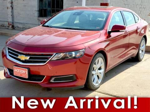 2015 Chevrolet Impala for sale at Jacksons Car Corner Inc in Hastings NE