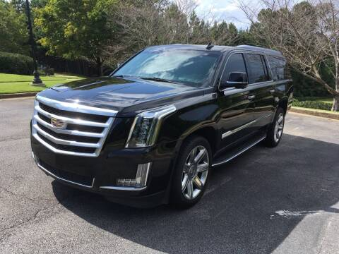 2016 Cadillac Escalade ESV for sale at Legacy Motor Sales in Norcross GA