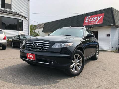 2008 Infiniti FX35 for sale at Easy Autoworks & Sales in Whitman MA