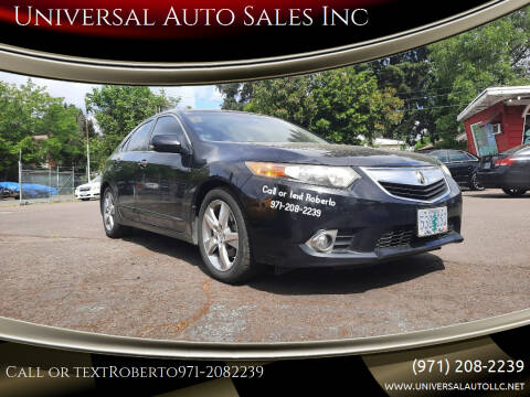 2011 Acura TSX for sale at Universal Auto Sales Inc in Salem OR