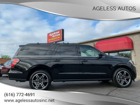 2019 Ford Expedition MAX for sale at Ageless Autos in Zeeland MI