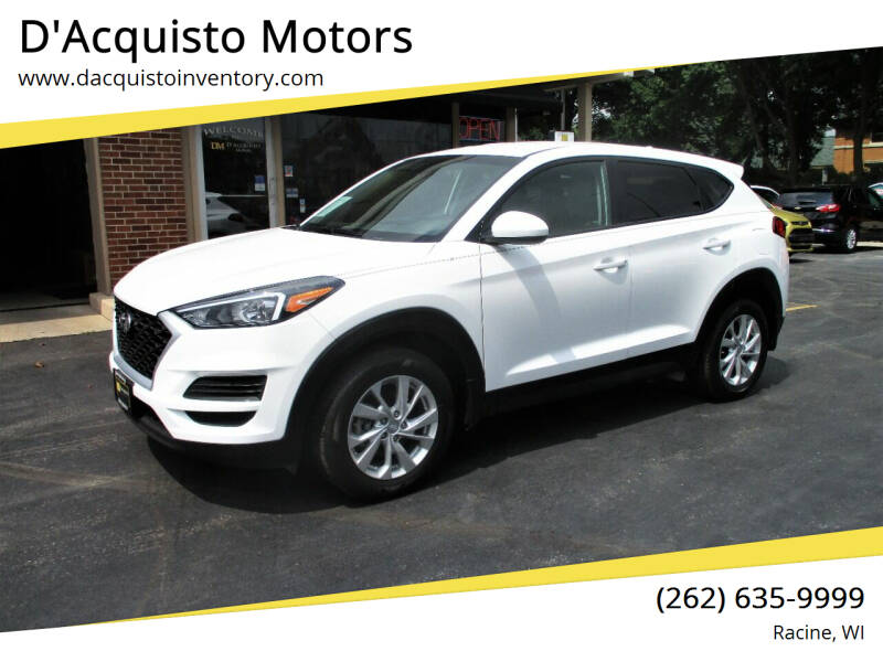 2019 Hyundai Tucson for sale at D'Acquisto Motors in Racine WI