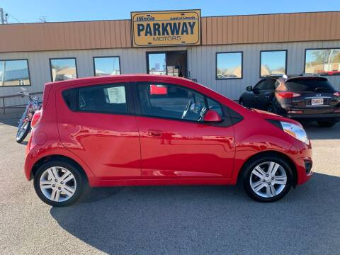 2013 Chevrolet Spark for sale at Parkway Motors in Springfield IL