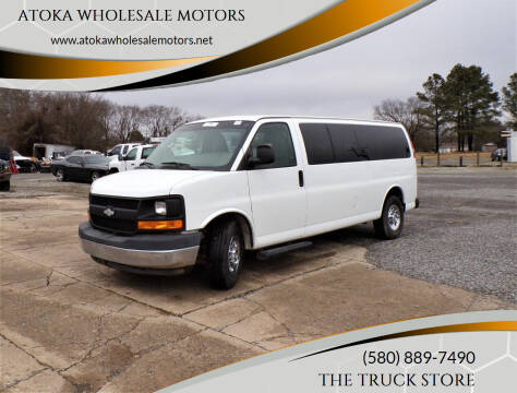2017 Chevrolet Express Passenger for sale at ATOKA WHOLESALE MOTORS in Atoka OK