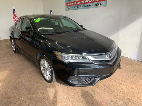 2017 Acura ILX for sale at Antonio's Auto Sales - Antonio`s  2206 in Pasadena TX