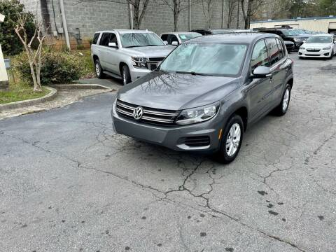 2014 Volkswagen Tiguan for sale at Five Brothers Auto Sales in Roswell GA