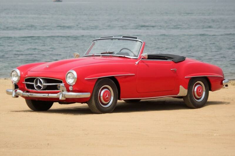 1955 Mercedes-Benz 190-Class for sale at Precious Metals in San Diego CA