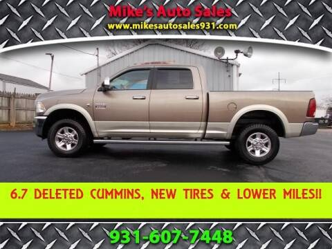 2010 Dodge Ram Pickup 2500 for sale at Mike's Auto Sales in Shelbyville TN