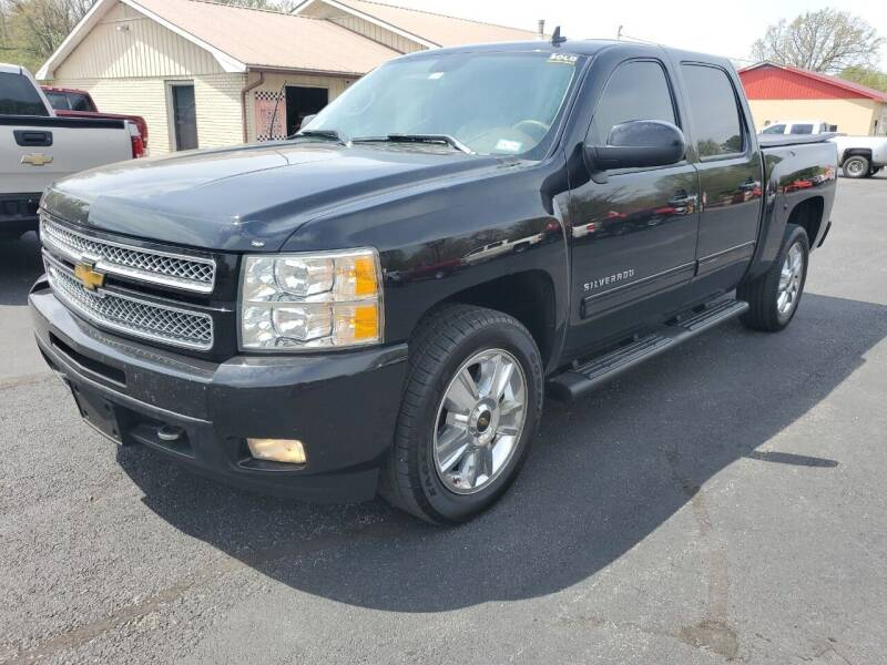 2012 Chevrolet Silverado 1500 for sale at Bailey Family Auto Sales in Lincoln AR