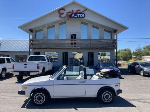 1985 Volkswagen Cabriolet for sale at Epic Auto in Idaho Falls ID