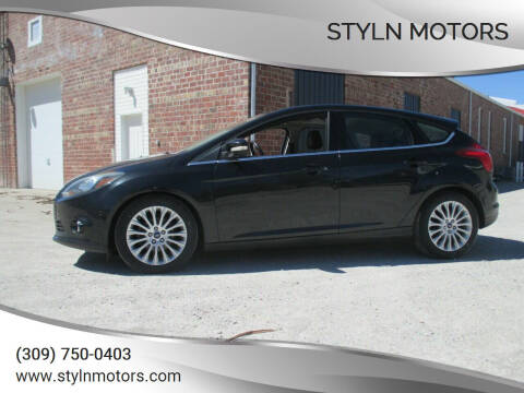 2012 Ford Focus for sale at Styln Motors in El Paso IL