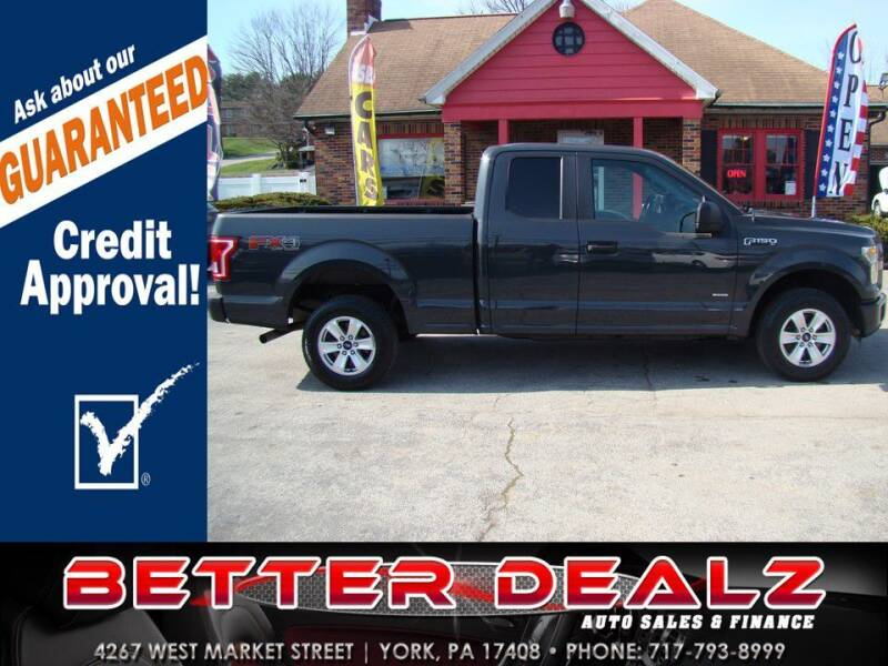 2016 Ford F-150 for sale at Better Dealz Auto Sales & Finance in York PA