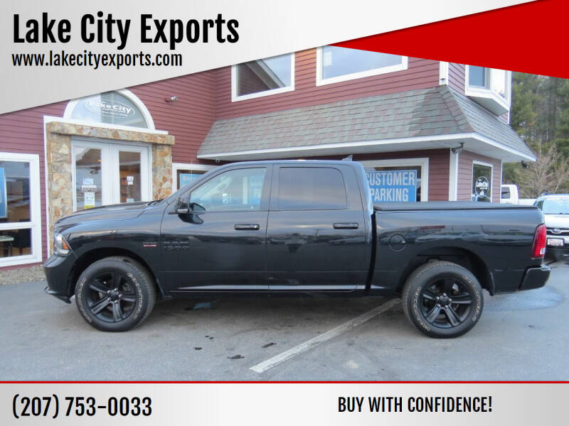2018 RAM Ram Pickup 1500 for sale at Lake City Exports in Auburn ME