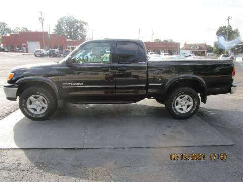 2000 Toyota Tundra for sale at Taylorsville Auto Mart in Taylorsville NC