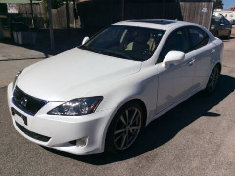 2008 Lexus IS 250 for sale at OASIS PARK & SELL in Spring TX