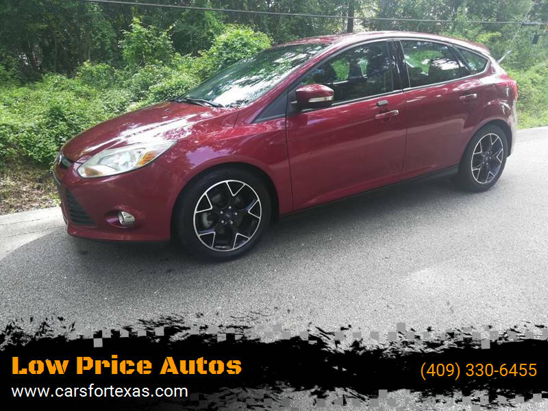 2014 Ford Focus for sale at Low Price Autos in Beaumont TX