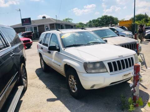 2004 Jeep Grand Cherokee for sale at I57 Group Auto Sales in Country Club Hills IL