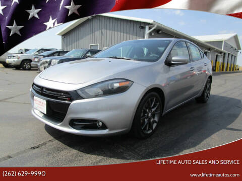 2015 Dodge Dart for sale at Lifetime Auto Sales and Service in West Bend WI