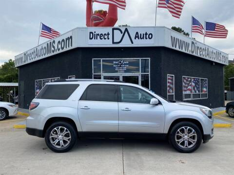 2016 GMC Acadia for sale at Direct Auto in D'Iberville MS