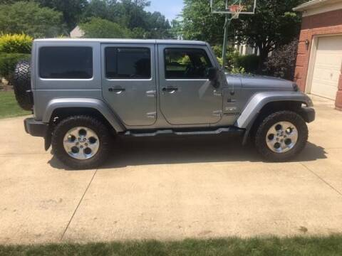 2014 Jeep Wrangler Unlimited for sale at Renaissance Auto Network in Warrensville Heights OH