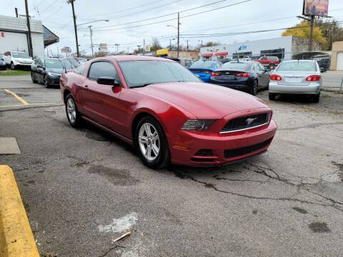 2013 Ford Mustang for sale at Green Ride Inc in Nashville TN
