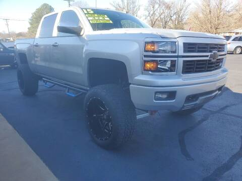 2015 Chevrolet Silverado 1500 for sale at Bailey Family Auto Sales in Lincoln AR