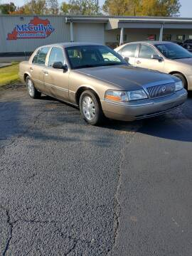 2004 Mercury Grand Marquis for sale at McCully's Automotive - Under $10,000 in Benton KY
