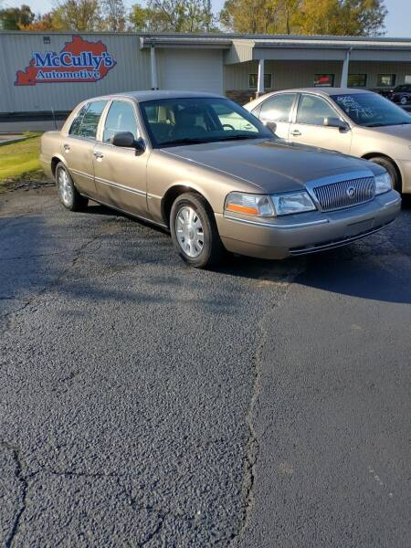 2004 Mercury Grand Marquis for sale at McCully's Automotive in Benton KY