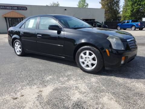 2005 Cadillac CTS for sale at Ron's Used Cars in Sumter SC