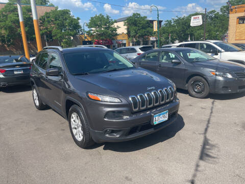 2016 Jeep Cherokee for sale at Time Motor Sales in Minneapolis MN