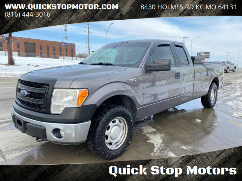 2013 Ford F-150 for sale at Quick Stop Motors in Kansas City MO