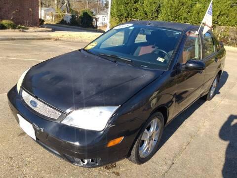 2005 Ford Focus for sale at Hilton Motors Inc. in Newport News VA