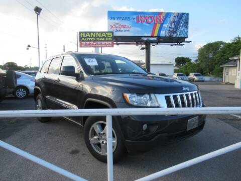 2013 Jeep Grand Cherokee for sale at Hanna's Auto Sales in Indianapolis IN