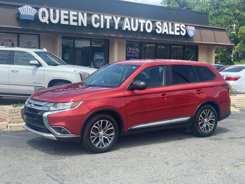 2016 Mitsubishi Outlander for sale at Queen City Auto Sales in Charlotte NC