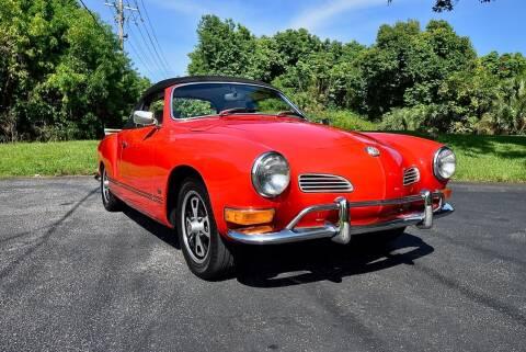 1970 Volkswagen Karmann Ghia for sale at Sunshine Classics, LLC in Boca Raton FL