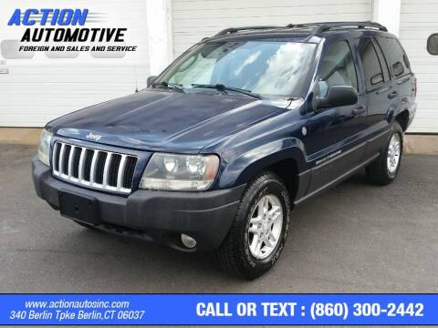 2004 Jeep Grand Cherokee for sale at Action Automotive Inc in Berlin CT