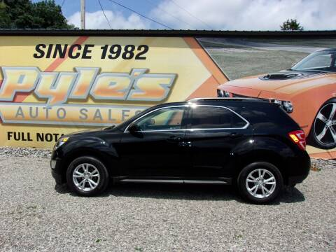 2017 Chevrolet Equinox for sale at Pyles Auto Sales in Kittanning PA