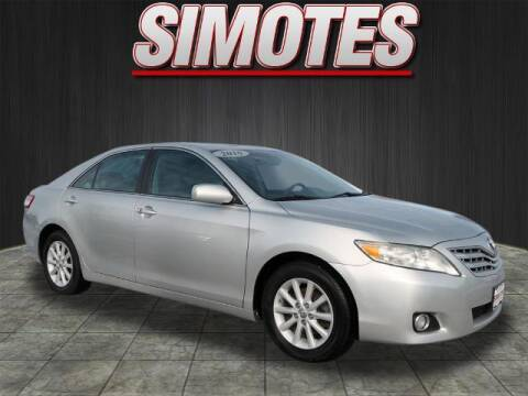2010 Toyota Camry for sale at SIMOTES MOTORS in Minooka IL