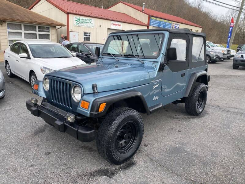 1998 Jeep Wrangler for sale at THE AUTOMOTIVE CONNECTION in Atkins VA