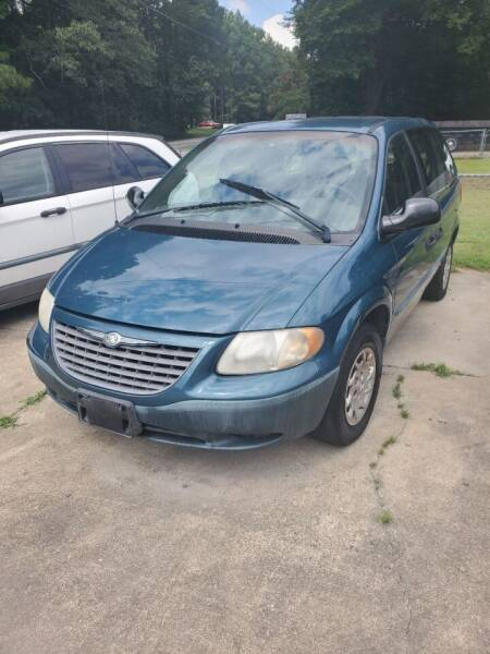 2002 Chrysler Voyager for sale at Williams Auto Finders in Durham NC