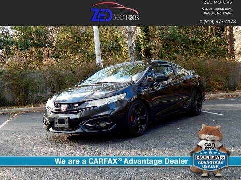 2015 Honda Civic for sale at Zed Motors in Raleigh NC