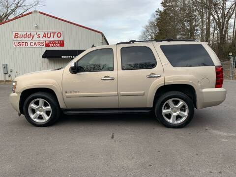 2008 Chevrolet Tahoe for sale at Buddy's Auto Inc in Pendleton SC