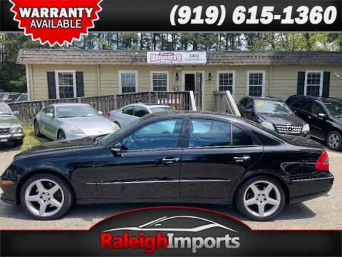 2009 Mercedes-Benz E-Class for sale at Raleigh Imports in Raleigh NC