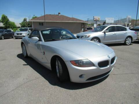 2003 BMW Z4 for sale at Crown Auto in South Salt Lake City UT