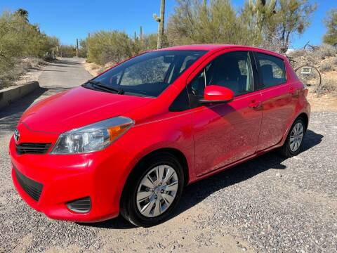 2013 Toyota Yaris for sale at Auto Executives in Tucson AZ